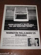 AC4=1963=REMINGTON ROLL A MATIC RASOIO=PUBBLICITA'=ADVERTISING=WERBUNG=