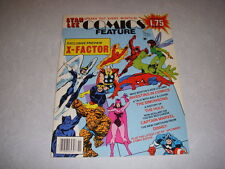 COMICS FEATURE #38, November, 1985, STAN LEE, X-FACTOR EXCLUSIVE PREVIEW!