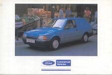 Ford Escort Combi Van Original colour Postcard Pub. No. FB 1525