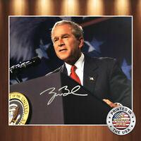 George W Bush Autographed Signed 8x10 Photo REPRINT