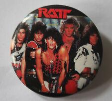 """RATT Original VTG 1980`s Button Pin Badge(32mm-1.25"""")not patch shirt LP CD"""