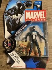 Marvel Universe 3.75 Black Costume Spiderman #018 Unopened