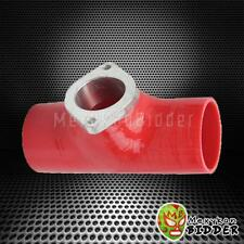 """Red Type S Type RS Turbo Blow Off Valve 2.5"""" Reincforced Silicone Adapter Pipe"""
