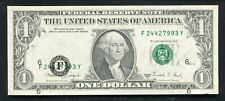 "1988-A $1 Frn Federal Reserve Note ""Major Print Shift Error� Gem Uncirculated"