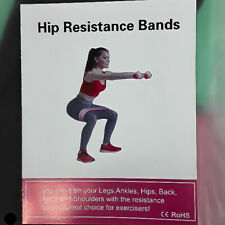 Exercise Resistance Bands for Legs and Butt Home Gym Workout Let Loop Bands
