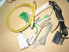 lot de câbles connexion téléphone internet pc voir photo. informatique pc