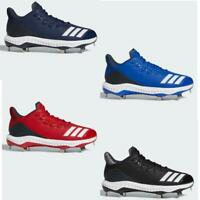 ADIDAS ICON BOUNCE 4 IV LOW METAL Mens Baseball Cleats - Pick Size Free Shipping
