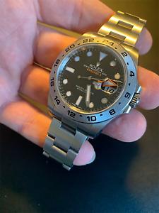 Rolex Explorer II Steel 216570 Black Dial