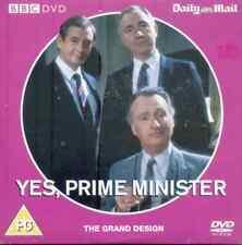 YES PRIME MINISTER - THE GRAND DESIGN: BBC PROMO DVD / PAUL EDDINGTON