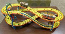 Technofix Tin Toboggan West Germany Windup Roller Coaster, Works!  Beautiful!