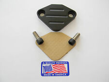 Black Powder Coated EGR Delete Jeep Cherokee, CJ5, CJ6, CJ7, Wrangler, Wagoneer