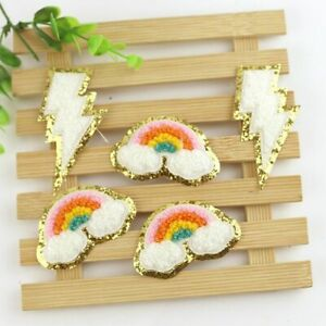 Accessories Sequin Sewing On Chenille Clothes Embroidery Embroidery Patches