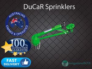 "NEW DuCaR Green 70 - 1.5"" Full & Part Circle Gear Drive Rain Gun Sprinkler Head"