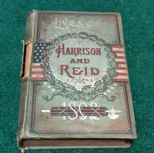 1892 Benjamin Harrison & Whitelaw Reid Presidential Campaign Book Republican