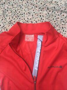 ENDURA - FS260 PRO - Red-White - Short Sleeve - Cycling Jersey - M