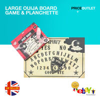 Large Ouija Board game & Planchette with Instruction. Spirit Ghost hunt