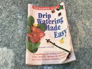 Vintage RainDrip Drip Watering Made Easy Guide **USEFUL & COLLECTIBLE**