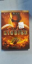 Brand New The Chronicles Of Riddick Dvd Sealed Vin Diesel Unrated Directors Cut