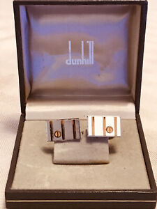 Vintage Dunhill Cufflinks Boxed