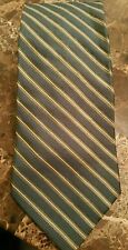 Croft & Barrow 100% Silk Mens Stripped Necktie