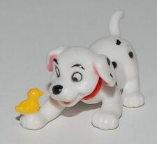 "1.5"" Mini Dog Playing With Yellow Bird PVC Action Figure Disney 101 Dalmations"