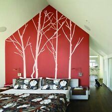 Winter Tree Wall Decal Forest Inspiration Living Room Removable Home Vinyl Decor