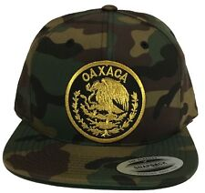 96bf9f4342a OAXACA MEXICO LOGO FEDERAL HAT ALL CAMO MESH SNAPBACK