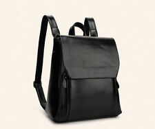 Japan Preppy Style Zipper School Bag - Black (TFK042255)