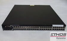 Brocade FastIron FCX648-E 48-Port Gigabit Ethernet Switch - Dual Power Supplies
