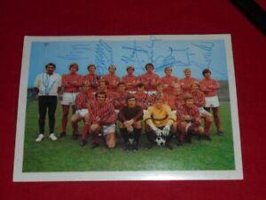 Fortuna Düsseldorf - Autogramme - signiert - Autogrammkarte 1972 - Bergmann