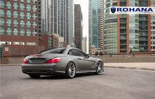 20x9 20x11 +30 Rohana RF2 5x112 Titanium Wheel Fit Mercedes Sl550 2013 Staggered