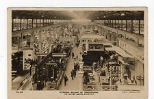 INTERIOR, PALACE OF ENGINEERING: The British Empire Exhibition postcard (JH1255)