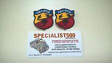 FIAT  500-  126 COPPIA  TOPPE   X SELLERIE SPORTIVE  ABARTH