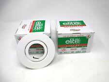 """(Set Of 2) Elite Lighting B461WH For B4 Series Housing Color: White 4"""" (New)"""