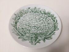 "Bareuther Waldsassen Bavaria Germany Cauliflower Blumenkohl Salad Plate, 7 3/4"""