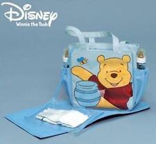 Avon Disney Winnie the Pooh Diaper Bag Messenger Bag Blue Medium - NIP