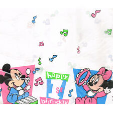 DISNEY BABIES 1st Birthday Tunes PAPER TABLE COVER ~ First Party Supplies Mickey