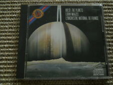Gustav Holst The Planets Lorin Maazel L'Orchestre National de France CD 37249 US