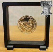 Magic Frame 90 Display Stand 3.5x3.5 Floating Coin Bottle Cap Gold Silver Bar