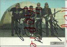 Scorpions, deutsche Gruppe, 2004, 5 Unterschriften