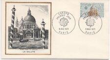 """FRANCE 1971.F.D.C. EUROPA. LA SALUTE. """"LE BURIN D'OR. OBLI:LE 8/5/71 PARIS"""