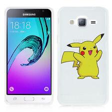 Coque Silicone TPU Ultra-Fine POKEMON GO Pikachu Samsung Galaxy J3 (2016) J320F