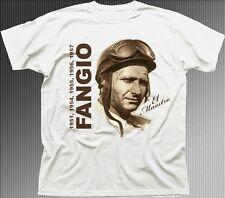 Fangio Juan Manuel De Carreras De Coches Leyenda Grand Prix F1 Formula 1 Camiseta tc9464