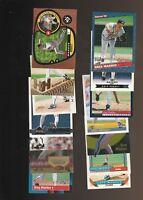Greg Maddux Baseball 28 Card Lot Cubs Braves Donruss Topps Fleer
