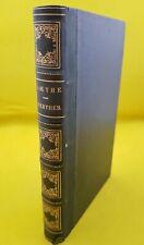 LITTERATURE ALLEMANDE / GOETHE : WERTHER -1850- SUIVI DE HERMANN ET DOROTHEE