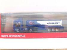 "Herpa 1/87 Nr. 120753 Scania R Tank-Sattelzug ""Albrecht"" OVP (BD4017)"