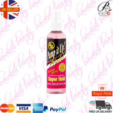 BB Pump It Up Gold Styling Spritz Super Hold 8oz