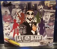 DJ Clay - Let 'Em Bleed vol. 3 CD insane clown posse twiztid tech n9ne abk icp