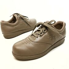 SAS Free Time Women's Comfort Shoes Beige Leather Oxfords Sz 7.5N Nurse Work (10