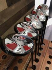 Senior Mens Demo Majek K5s Golf Clubs True Utility Hybrid Savers Set 7 8 9 PW SW